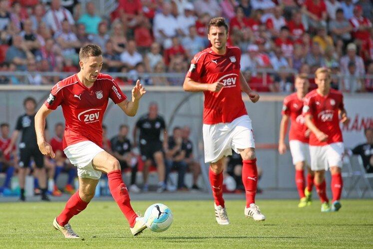 Marcel Bär erzielte das 1:1 für den FSV.