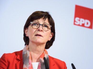 Saskia Esken ist Vorsitzende der SPD.