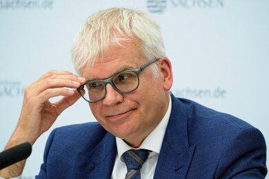 Hartmut Vorjohann - Finanzminister in Sachsen (CDU)