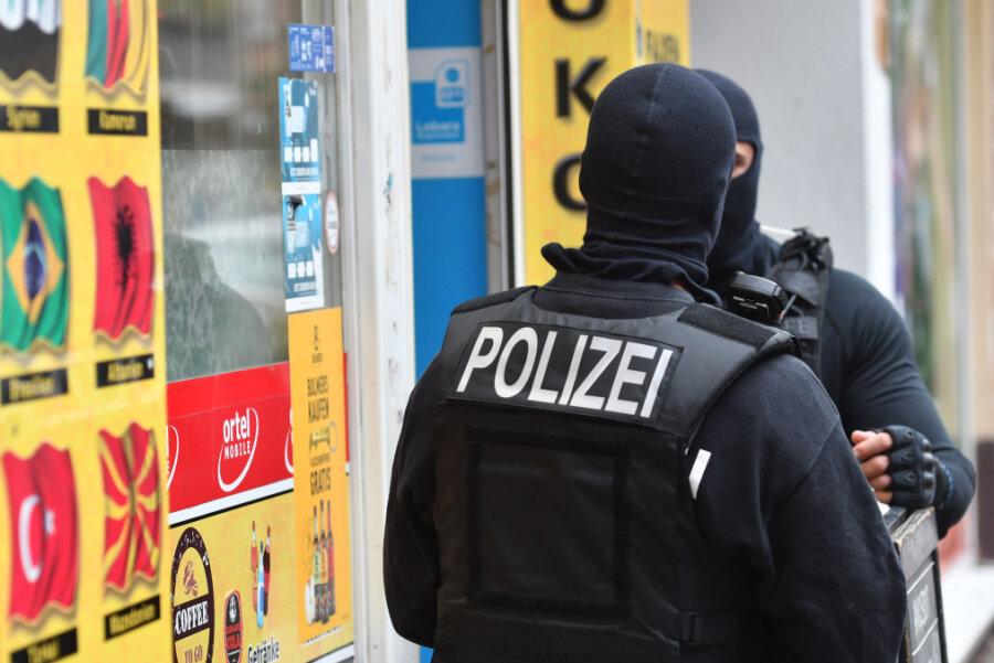Polizei sucht von Chemnitz aus Hinweise auf kriminelle Clans
