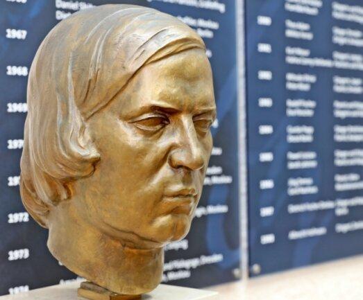 Was war der Auslöser für den Tod Schumanns? Hier die Büste in seinem Zwickauer Geburtshaus.