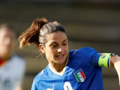 Patrizia Panico ist Italiens Rekordnationalspielerin