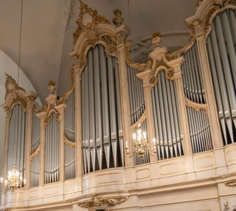 Die Jehmlich-Orgel in der Augustusburg Stadtkirche St. Petri ist ebenfalls auf der CD zu hören.