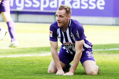 Ben Zolinski und seine Auer Mannschaftskameraden erlebten einen bitteren Sonntag gegen Paderborn.