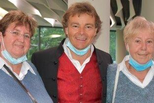 Ursula Kohnert, Rudy Giovannini, Monika Weber (v.l.)