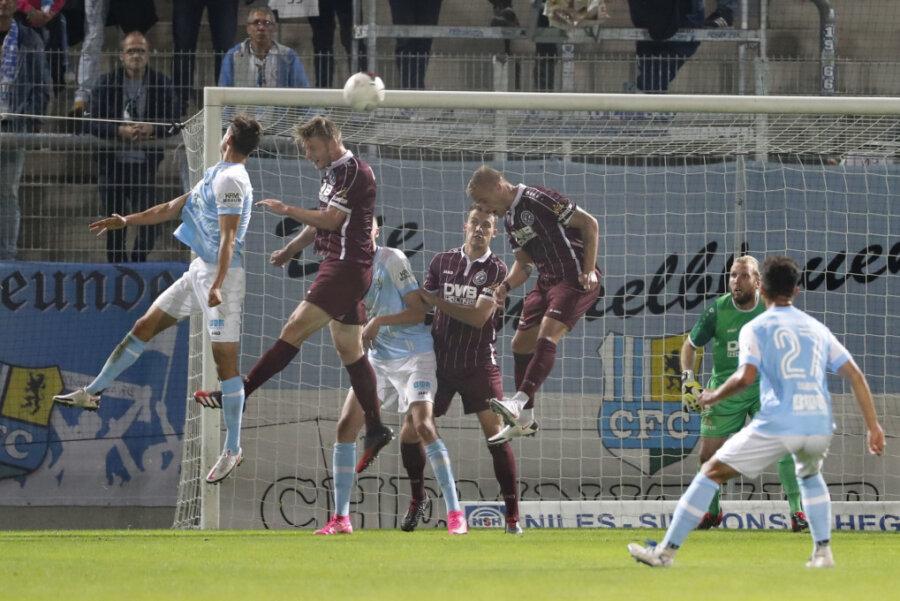 Der Chemnitzer FC musste gegen den BFC Dynamo im eigenen Stadion eine Niederlage hinnehmen.