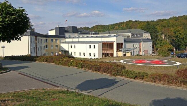 Das DRK-Krankenhaus in Lichtenstein. Zurzeit werden Pläne zu Strukturveränderungen diskutiert.