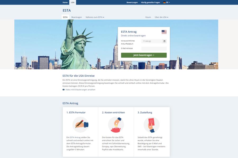 Einreise in die USA - ESTA oder US-Visum beantragen