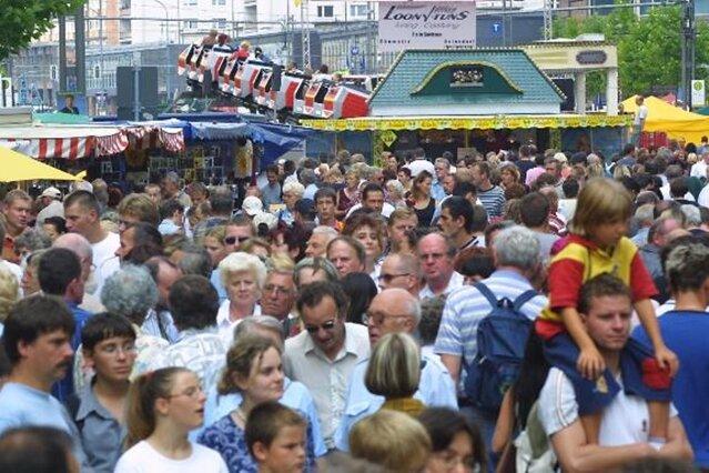Das Programm zum Stadtfest Chemnitz 2015