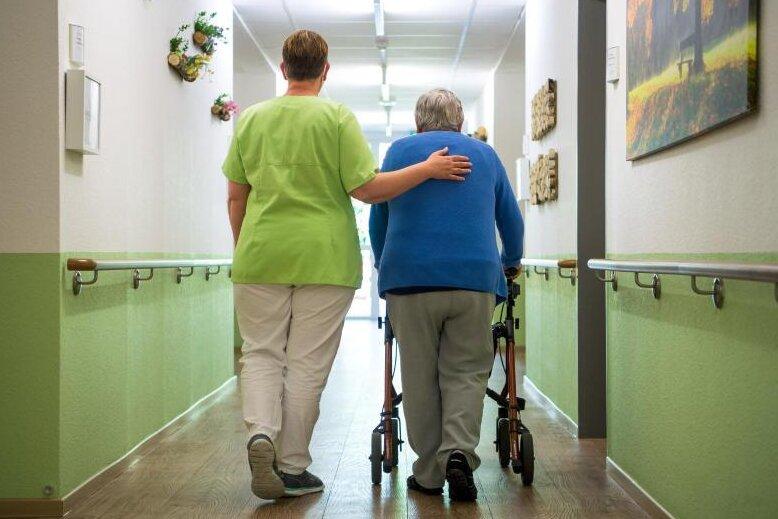 In Sachsen gibt es wieder freie Pflegeheimplätze