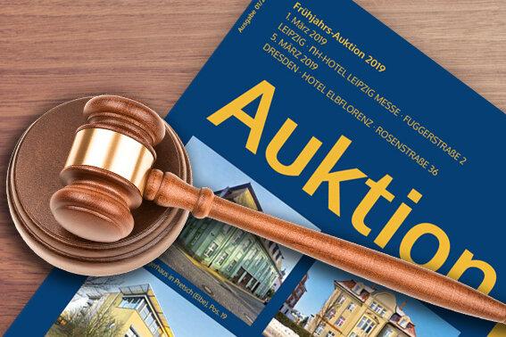 Auktion: Renditestarke Immobilien aus Westsachsen werden in Dresden versteigert