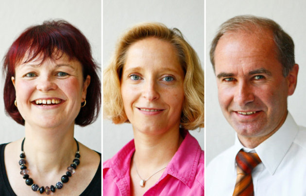 Gefragte Experten zum Thema Reisekasse: Kathrin Heilmann, Anja Morgeneyer und Andreas Führig (v.l.n.r.)