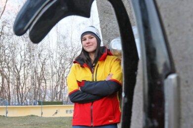 Melina Fischer hatte sich als Dritte der Deutschen Juniorenmeisterschaft für Weltcup-Einsätze empfohlen. Doch dazu kam es nicht.