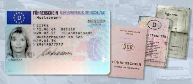 Die alten Papierführerscheine müssen in Scheckkarten umgetauscht werden.
