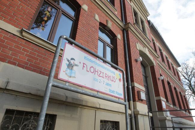 Die Kita Flohzirkus in Kauschwitz muss mindestens drei Wochen geschlossen bleiben.