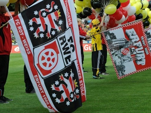 Rot-Weiß Erfurt droht die Einstellung des Spielbetriebs