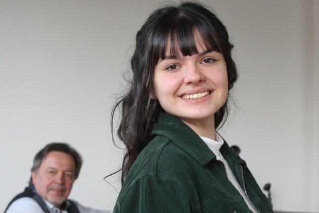 Madleen Dederding beginnt in München ein Theaterstudium. Bisher nahm sie Unterricht bei Wieland Müller.