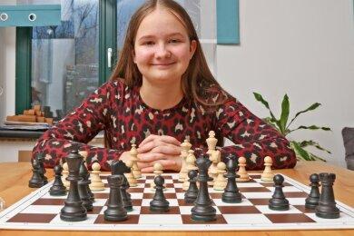 Schach ist die große Leidenschaft von Saskia Pohle, die jetzt zum zweiten Mal Deutsche Meisterin in ihrer Altersklasse wurde.