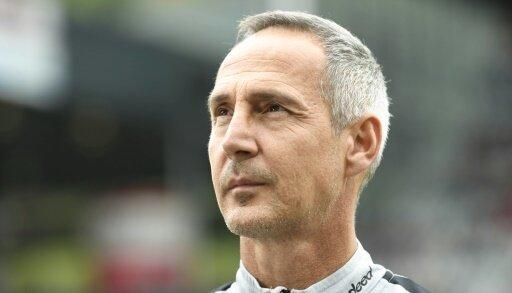 Adi Hütter trifft mit der Eintracht auf Marseille