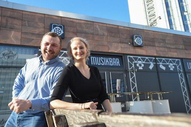 Stephanie und René Drummer die neuen Chefs von Bexstage.
