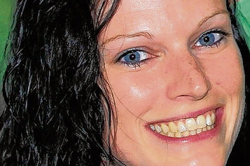 Katrin Koitka aus Treuen klebt Nena seit drei Jahren an den Fersen.
