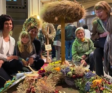 Heike Ludwig, Linda Beck, Angelika Scheuerl, Elke Bischoff und Annerose Zwinzscher (v. l.) haben einen Preis der Kategorie Freestyle gewonnen.