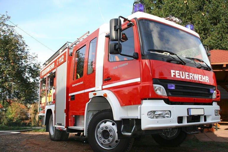 Zwickauer Brauhaus und Priesterhäuser: Mülltonnenbrand verursacht Schäden