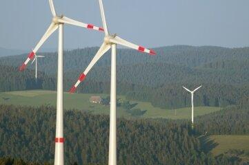 Windanlagen im Wald - so wie hier in Baden-Württemberg - soll es im Landkreis nicht geben.