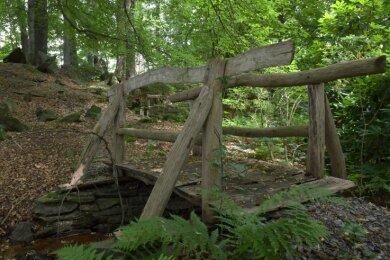 In der denkmalgeschützten Parkanlage müssen unter anderem Wege und auch Brücken erneuert oder saniert werden.