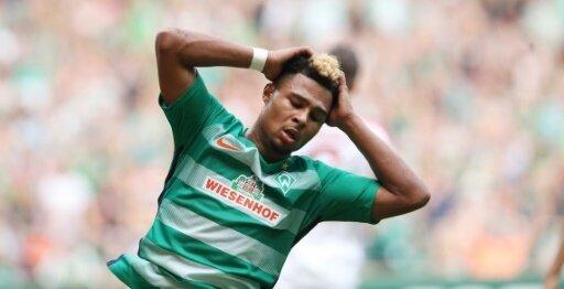 Serge Gnabrys Debüt für Werder Bremen missglückt