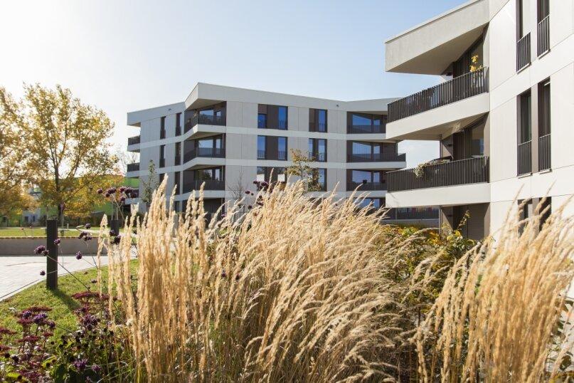 Zwischen 2017 und 2019 entstanden Eigentumswohnungen mit einer Fläche zwischen 77 und 124 Quadratmetern.