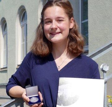Vom Förderverein ausgezeichnet: Emma Piermeier.