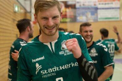 Verstärkung für die HSG-Dachse: Ondrej Simunek meldete sich gegen Bad Blankenburg zurück.