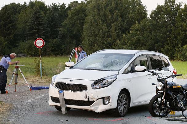 Drei Verletzte bei Kollision in Mittelbach