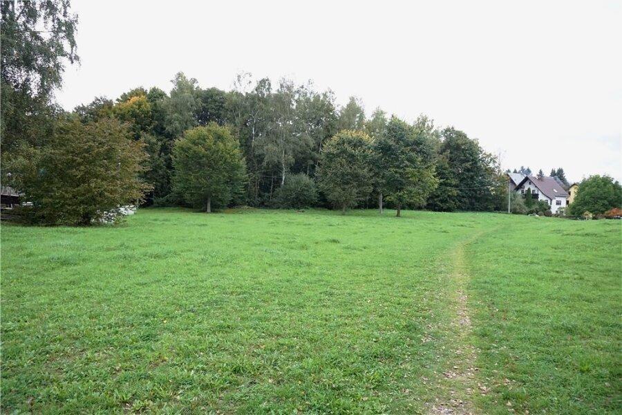 Anschließend an die Straße An den Korbweiden (rechts) in Adorf soll ein Baugebiet entstehen.