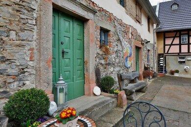 Bei der Restaurierung der historischen Bausubstanz wird besonders auf Details geachtet.