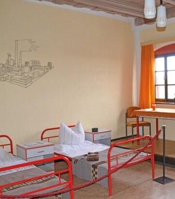 So sah es in der Jugendherberge auf Schloss Rochsburg in den 1980er-Jahren aus.
