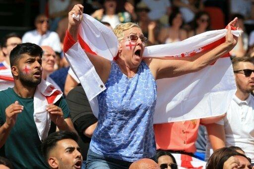 Ganz England feiert seine Nationalmannschaft