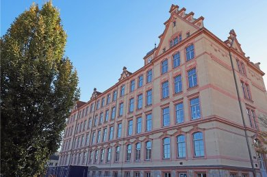 Im Geschwister-Scholl-Gymnasium Freiberg - hier das Haus Dürer - herrscht Lehrermangel.