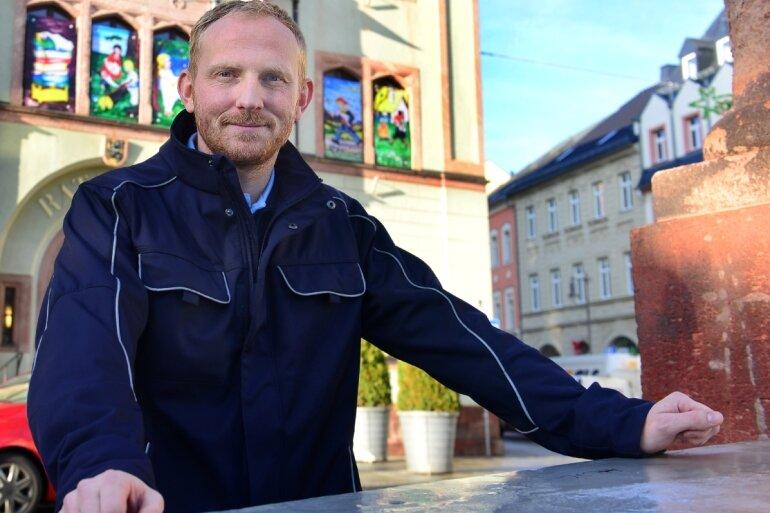 Martin Keller leitet seit März dieses Jahres das Ordnungsamt in Mittweida.