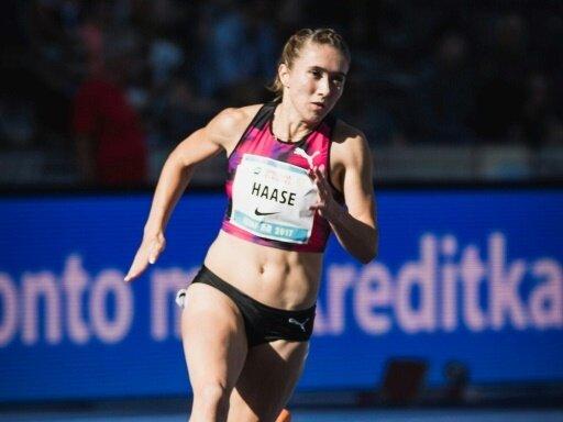 Rebekka Haase steht im Halbfinale über 200 m