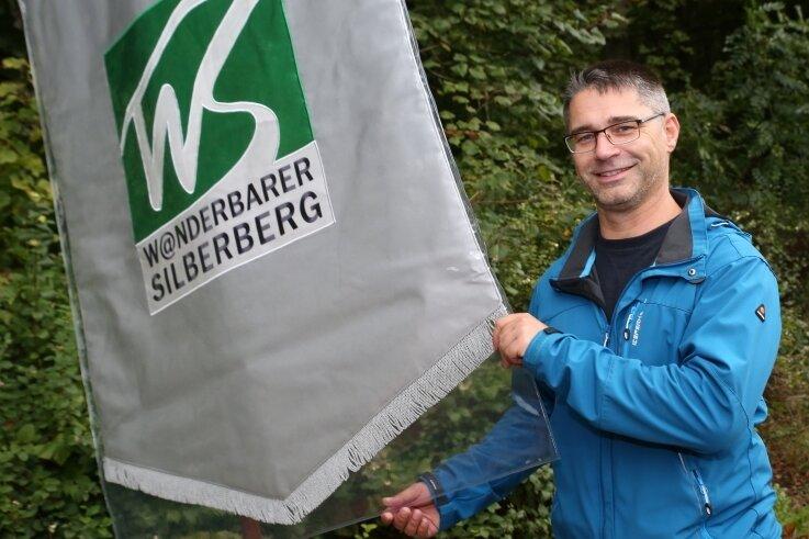 """René Gutzmerow ist der Projektkoordinator des neuen """"Wanderbaren Silberbergs."""