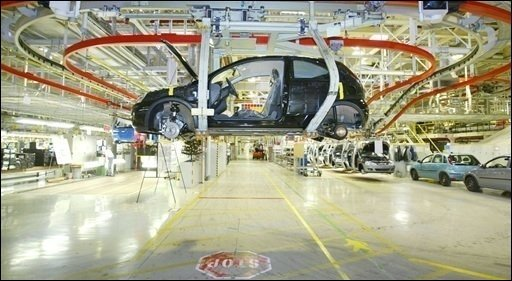 General Motors (GM) will offenbar alle vier Standorte in Deutschland erhalten - auch den Standort Eisenach in Thüringen (Foto)