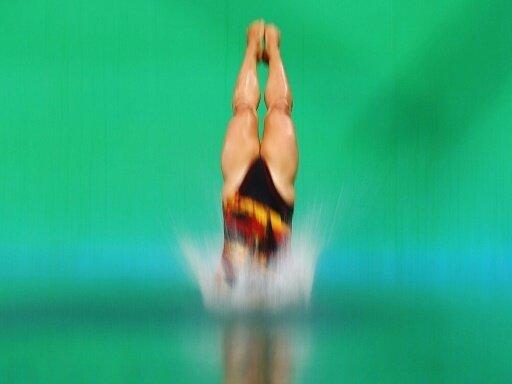 Tina Punzel steht im Finale vom 1-m-Brett