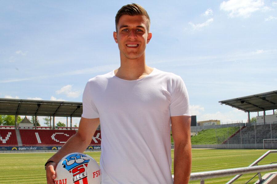 Maurice Hehne kommt zum FSV Zwickau.