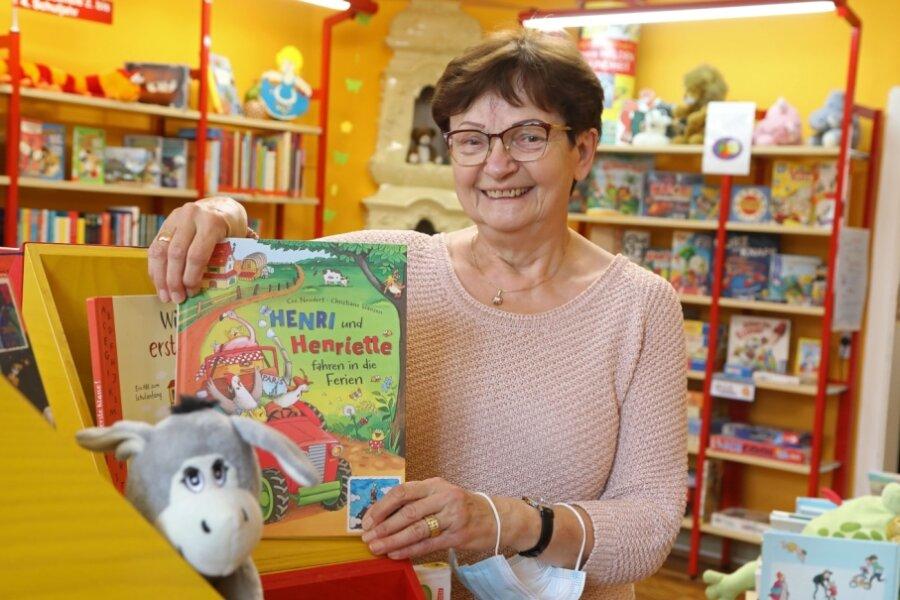 Kinderbücher haben es ihr angetan