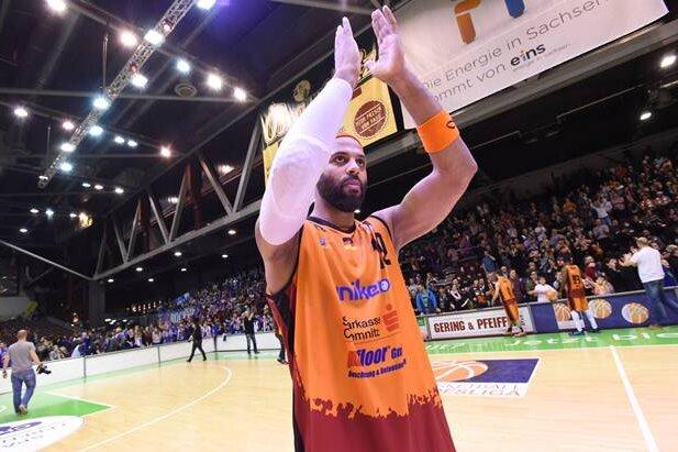"""Robert Cardenas will nach dem """"Erlebnis"""" vor mehr als 5200 Zuschauern diese Saison noch einmal in der Chemnitz-Arena spielen."""