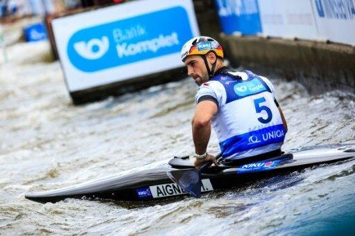 Hannes Aigner erzielt einen Podestplatz beim Slalom