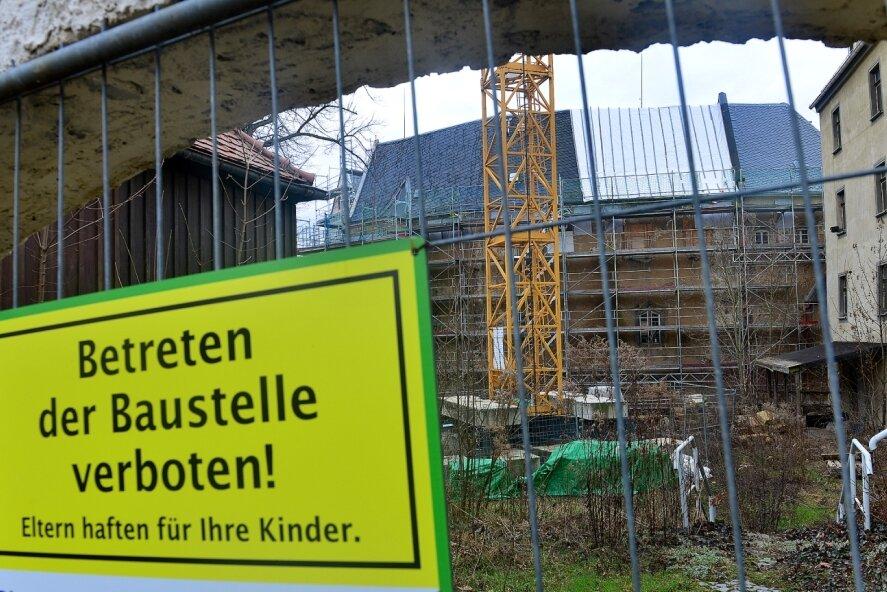 Die Sanierung des Schlosses Sachsenburg stellt für die Stadt Frankenberg eine Herausforderung dar. Doch die Kommune will sich der Verantwortung für das Baudenkmal stellen.