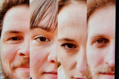 Robert Kapelle, Anna Bittner, Tonja Arina Gold und Peter Peniaška (v.l.) äußern sich auf der Facebook-Seite des Mittelsächsischen Theaters Freiberg sehr differenziert zur bundesweiten Video-Aktion #allesdichtmachen.